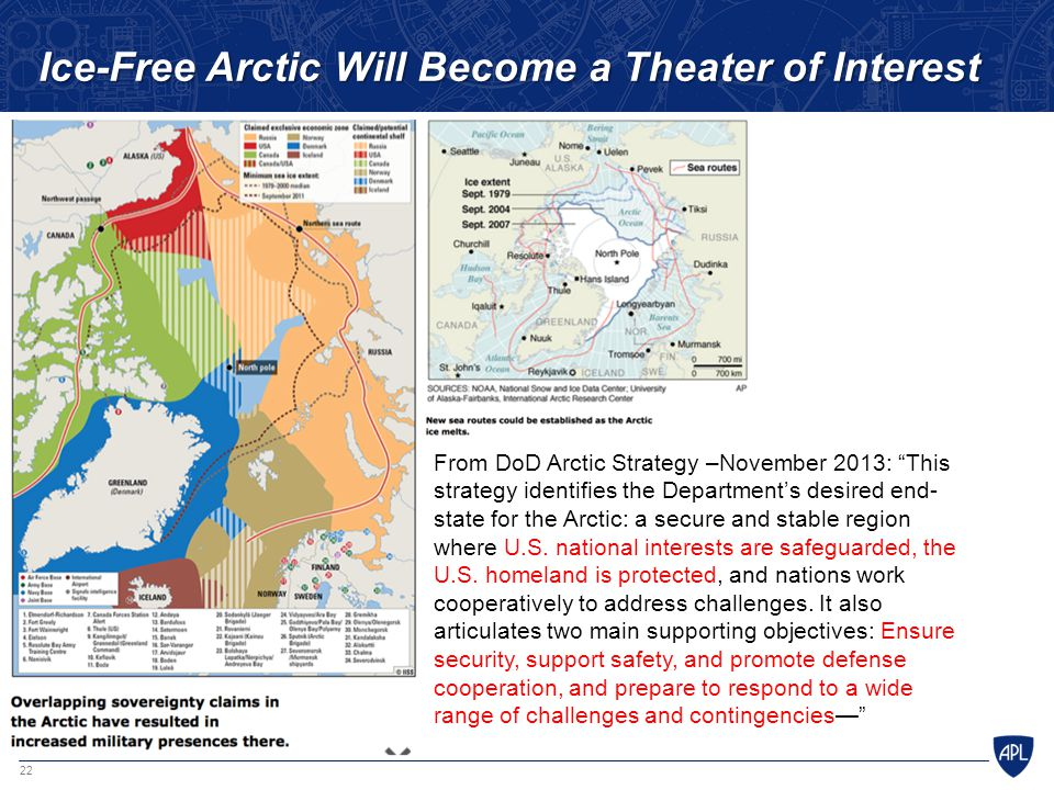 Ice-Free Arctic Will Become a Theater of Interest
