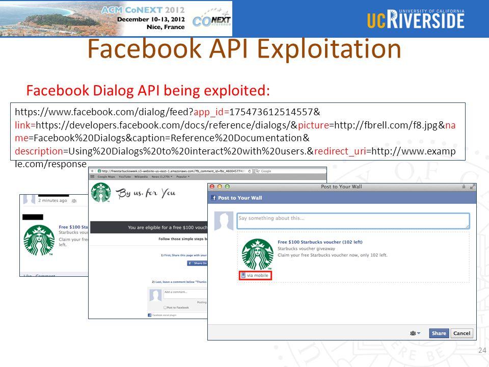 Facebook API Exploitation