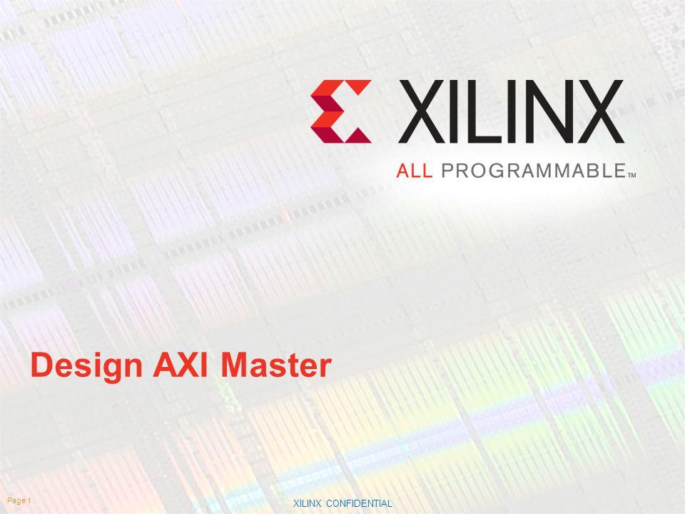 Design AXI Master