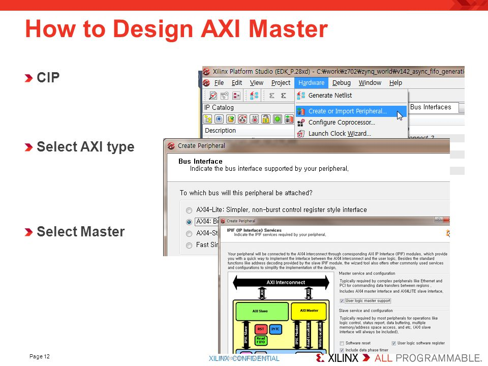 How to Design AXI Master
