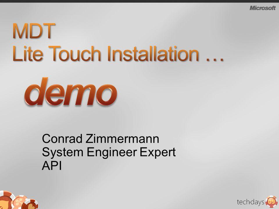 MDT Lite Touch Installation …