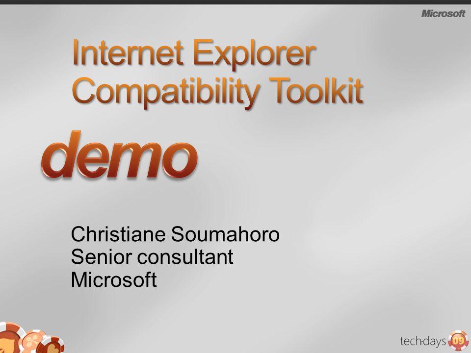 Internet Explorer Compatibility Toolkit