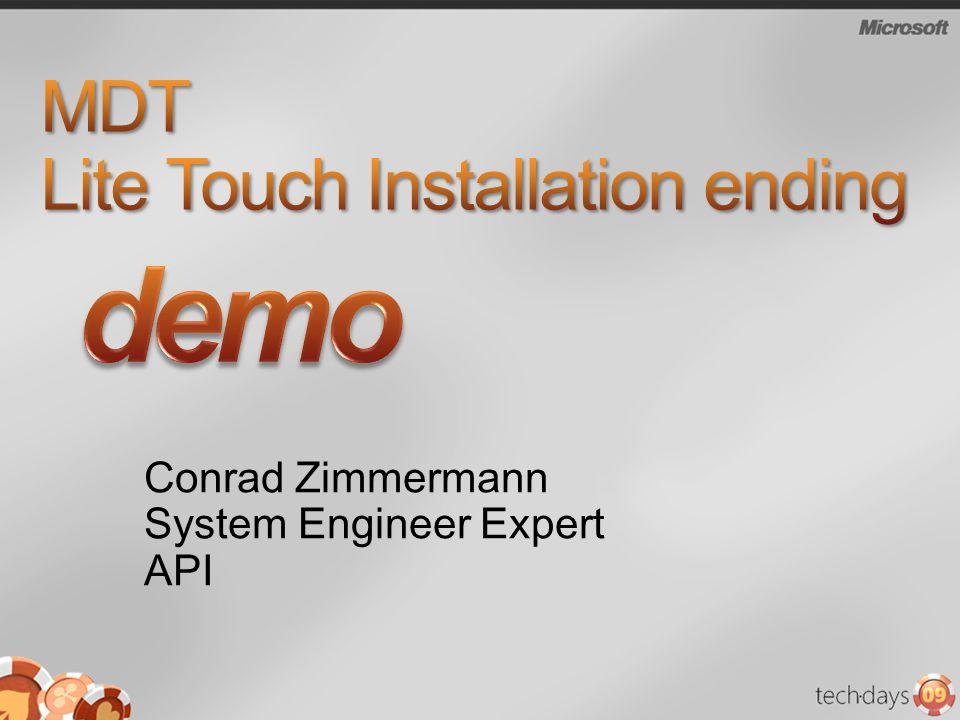 MDT Lite Touch Installation ending
