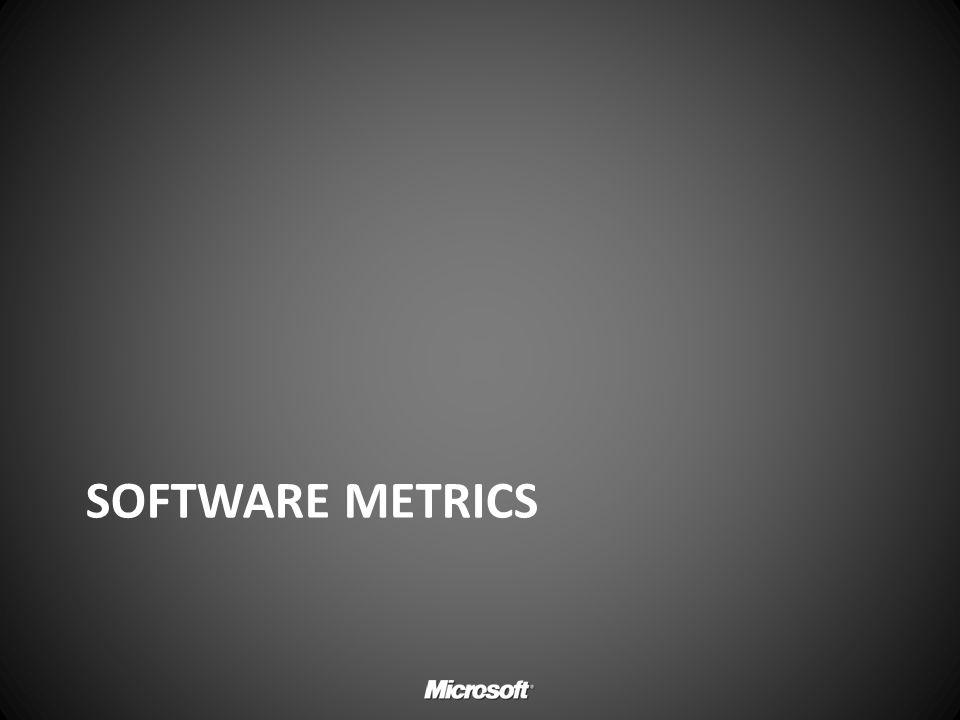 Software Metrics