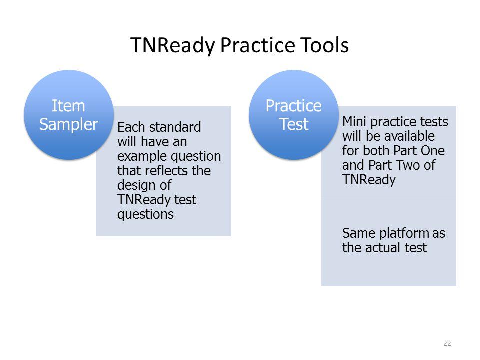TNReady Practice Tools