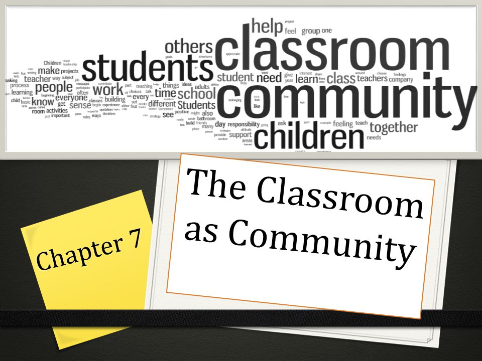 The Classroom as Community