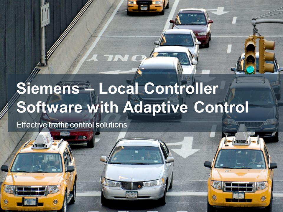 Siemens – Local Controller Software with Adaptive Control