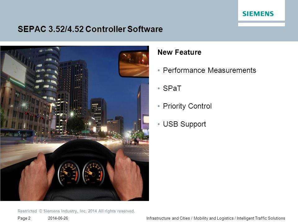 SEPAC 3.52/4.52 Controller Software