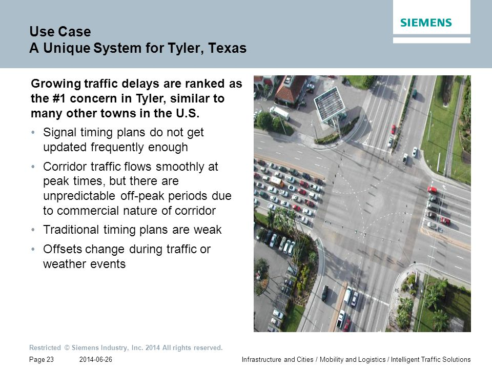 Use Case A Unique System for Tyler, Texas