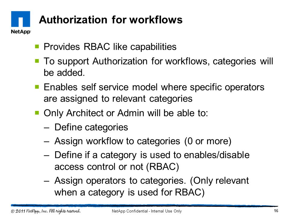Authorization for workflows