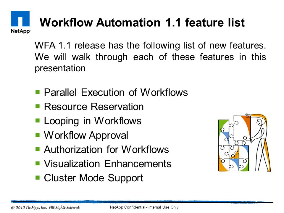 Workflow Automation 1.1 feature list