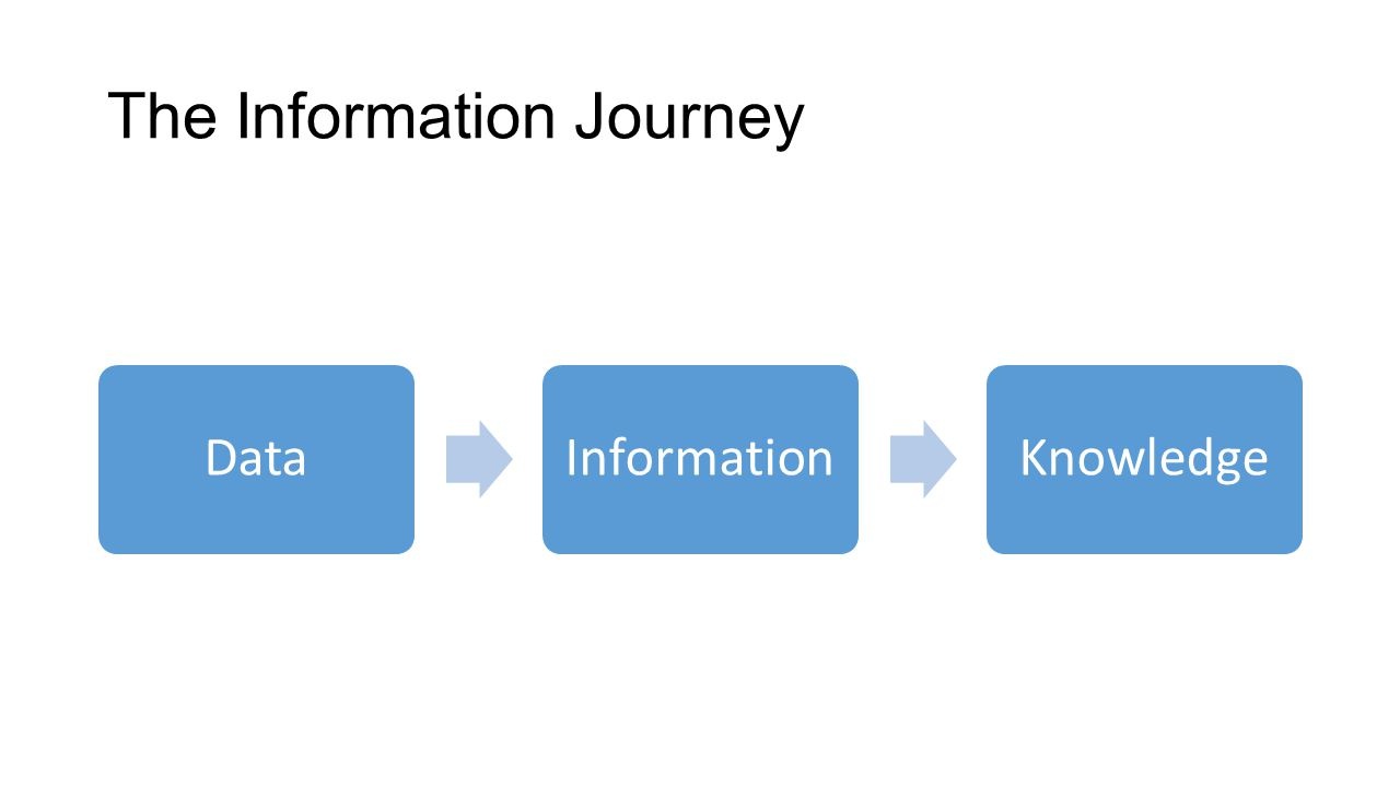 The Information Journey