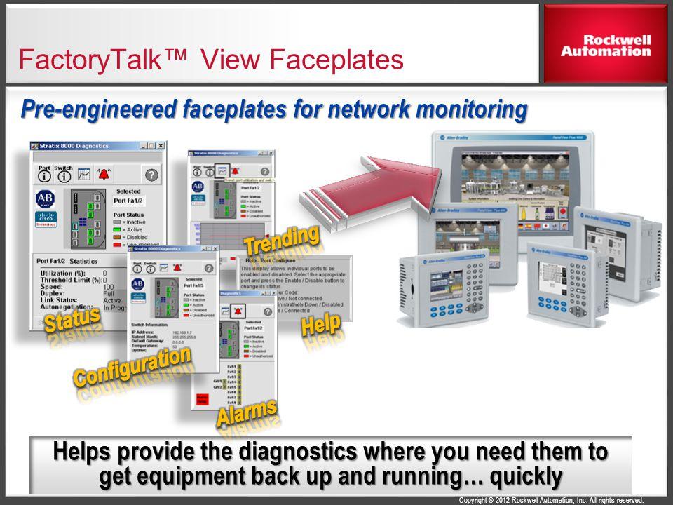 FactoryTalk™ View Faceplates
