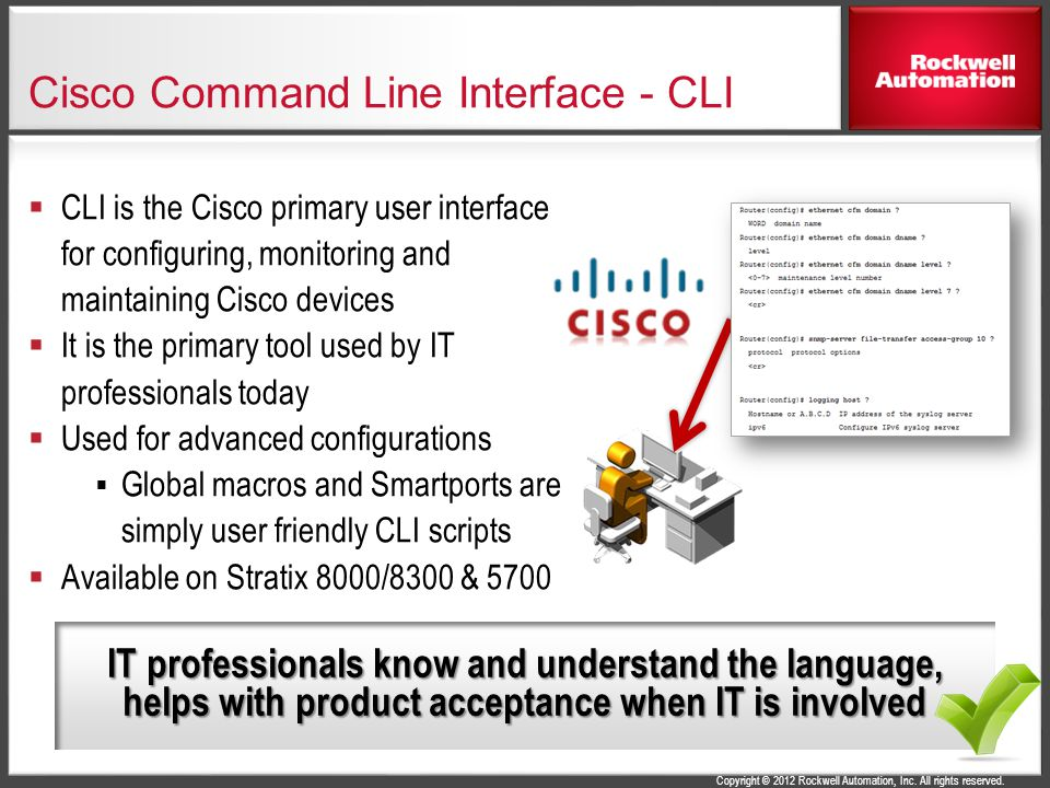 Cisco Command Line Interface - CLI