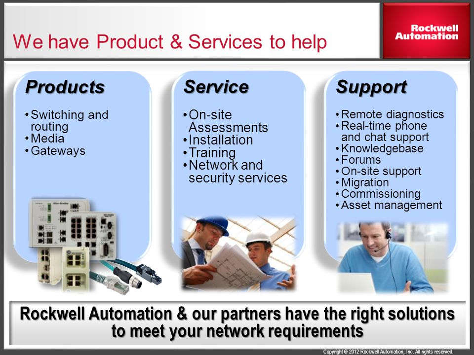 We have Product & Services to help
