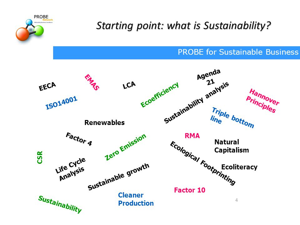 Starting point: what is Sustainability