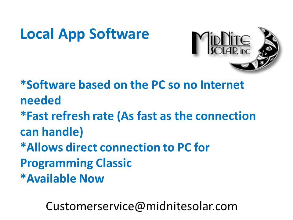 Local App Software