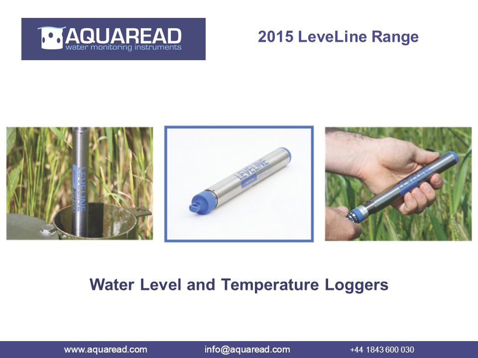Water Level and Temperature Loggers