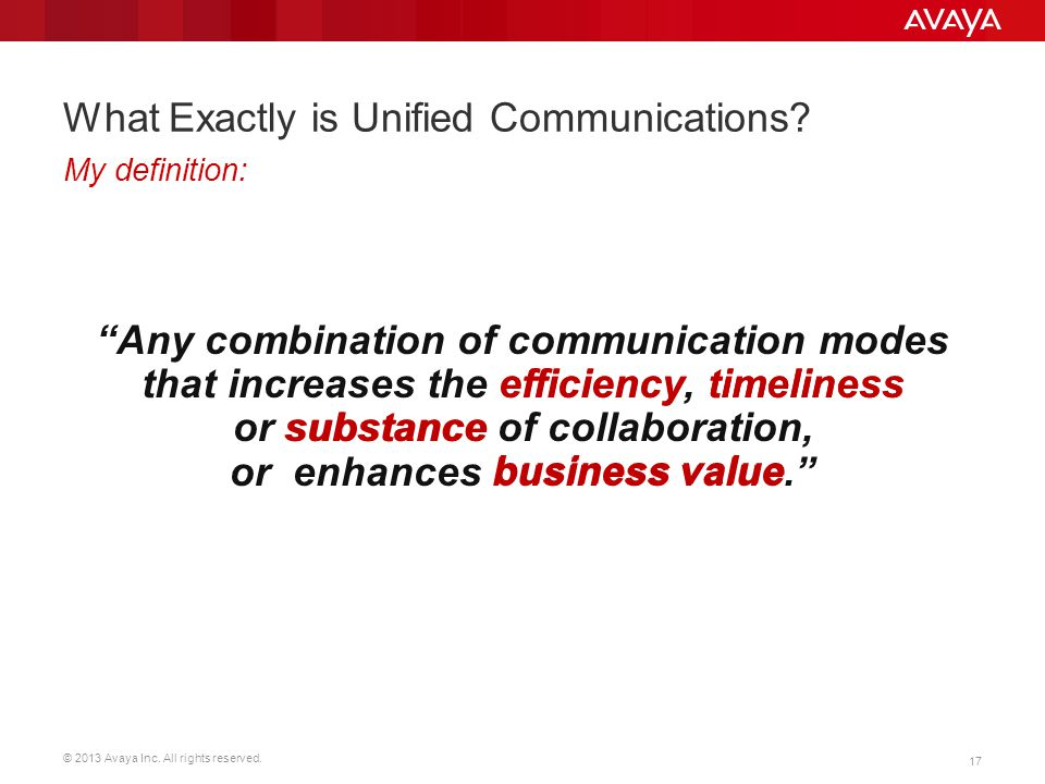 What Exactly is Unified Communications