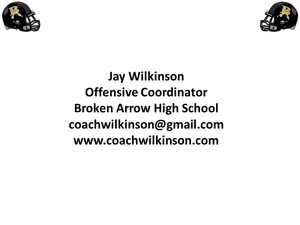 Offensive Coordinator Broken Arrow High School