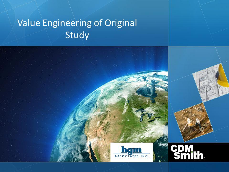 Value Engineering of Original Study