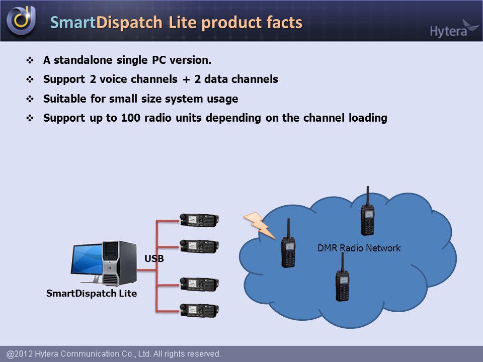 SmartDispatch Lite product facts