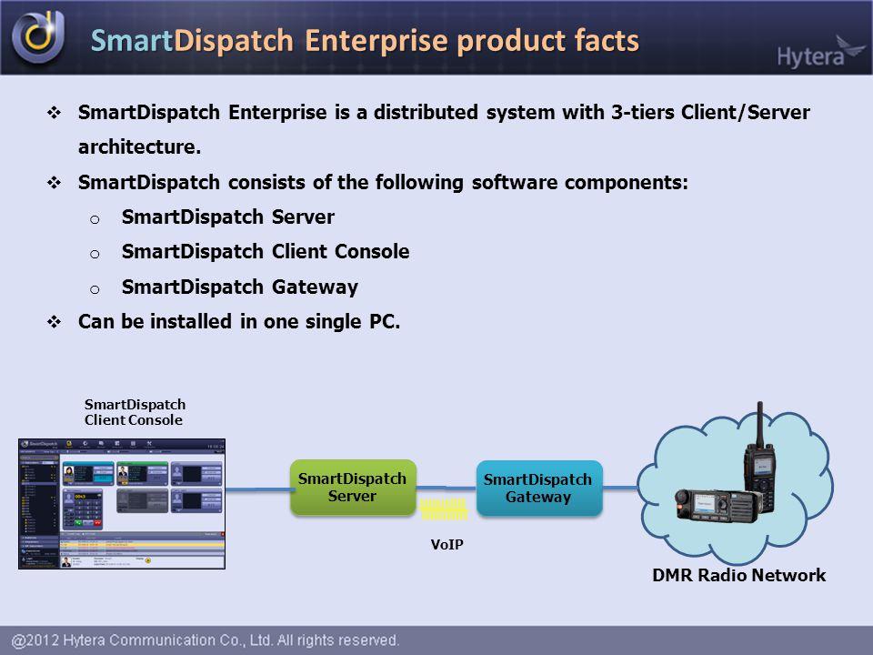 SmartDispatch Gateway