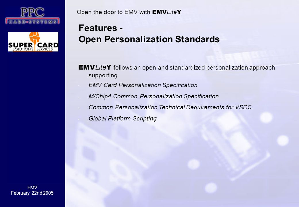 Features - Open Personalization Standards