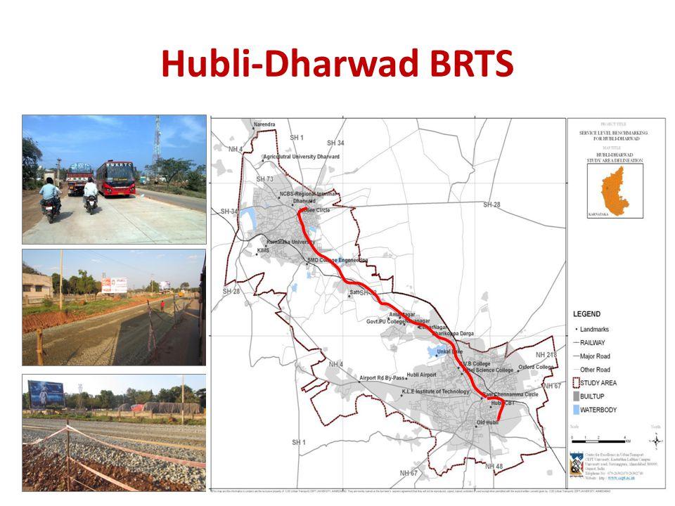 Hubli-Dharwad BRTS NAVALGUND DHARWAD NAVANAGAR HUBLI KALGHATGI