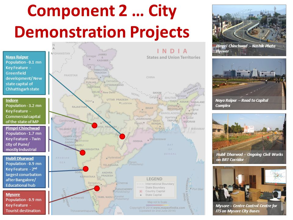 Component 2 … City Demonstration Projects