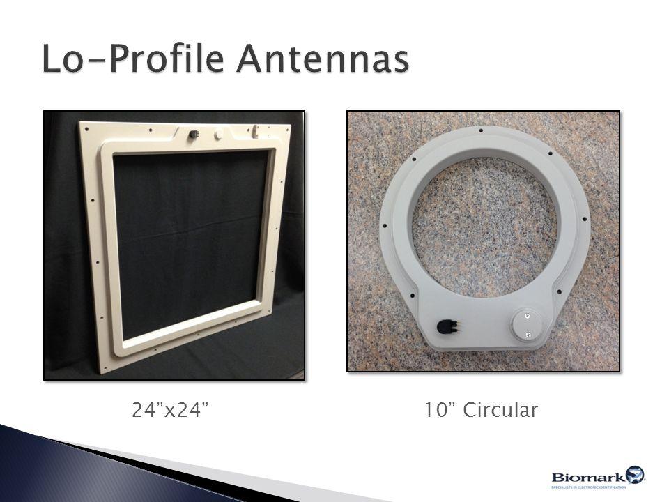 Lo-Profile Antennas 24 x24 10 Circular