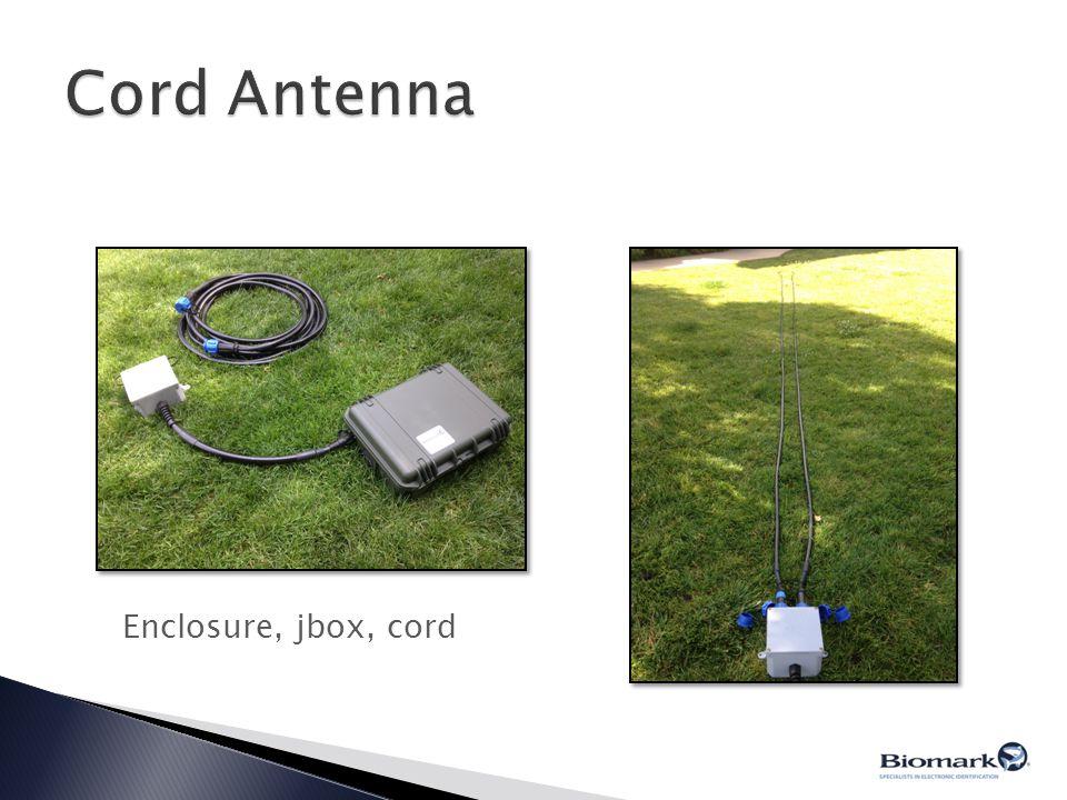Cord Antenna Enclosure, jbox, cord