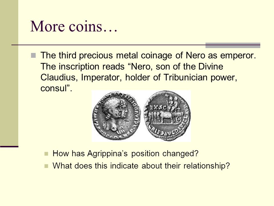 More coins…