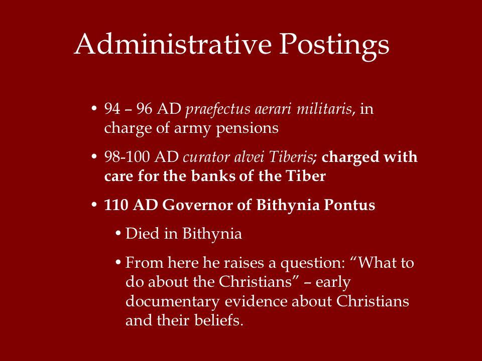 Administrative Postings