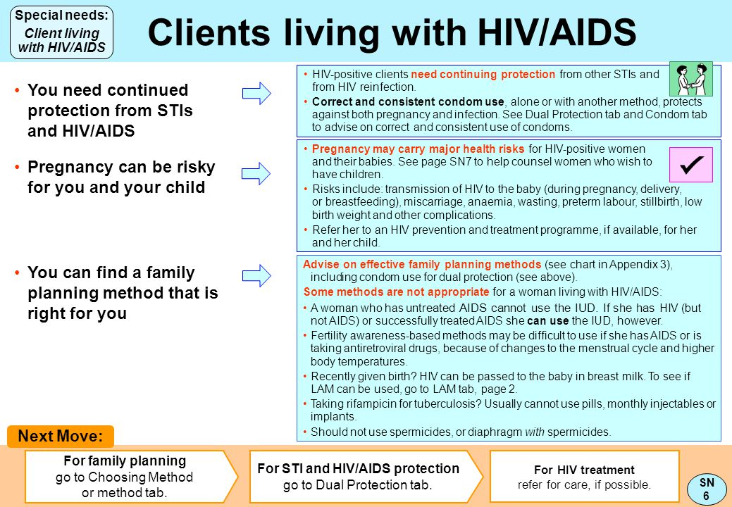 Clients living with HIV/AIDS Client living with HIV/AIDS