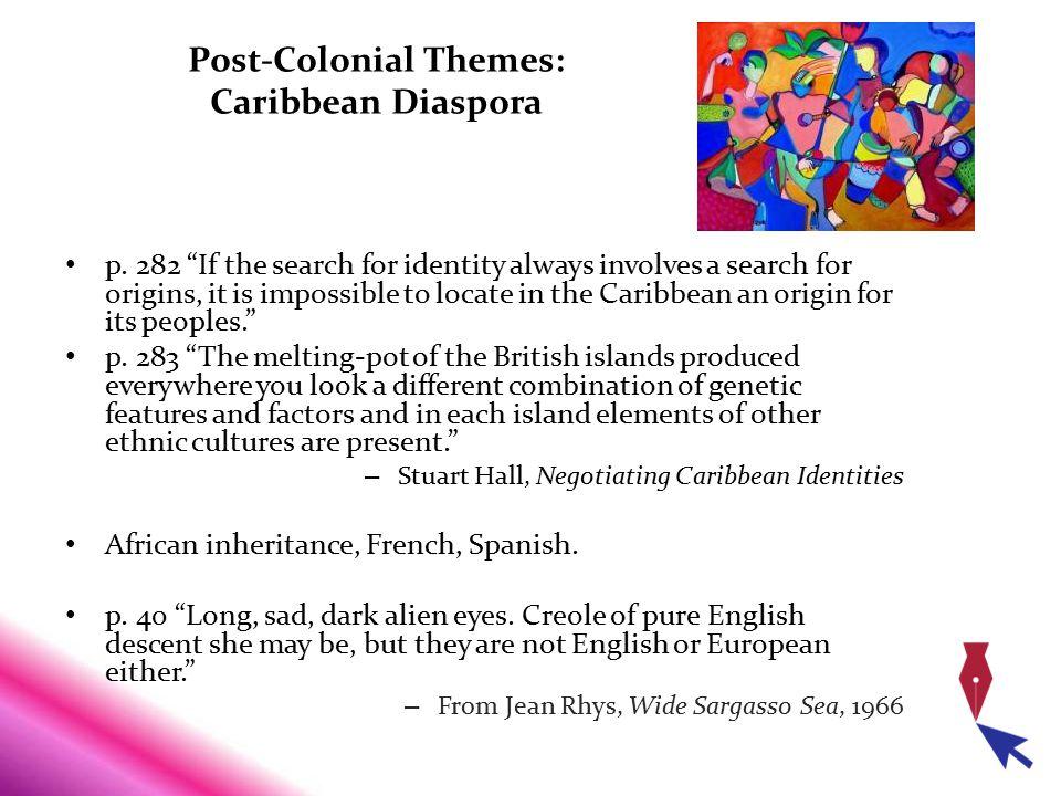 Post-Colonial Themes: Caribbean Diaspora