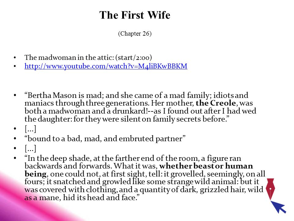 The First Wife (Chapter 26)