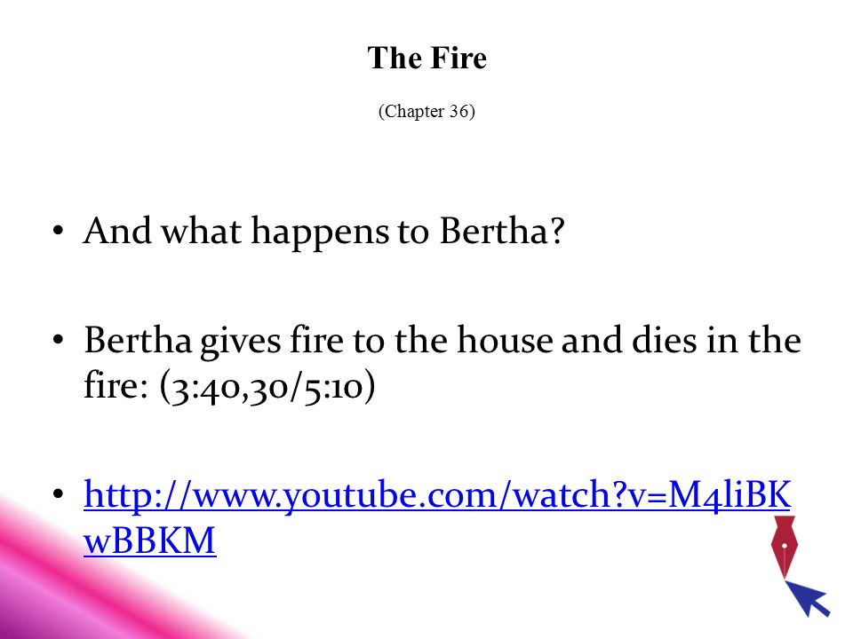 And what happens to Bertha