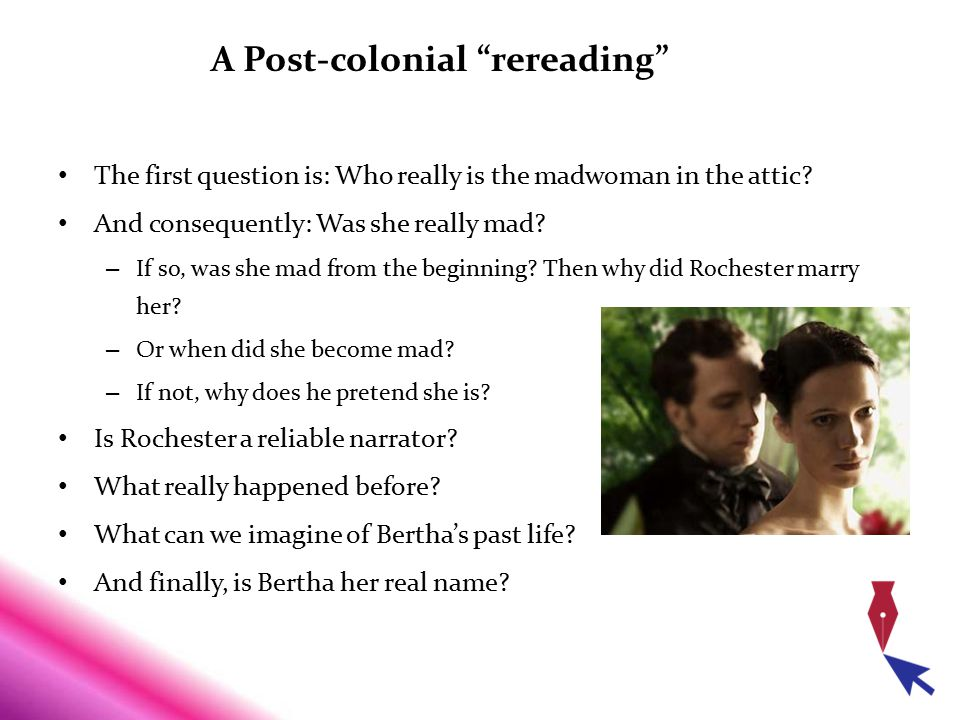 A Post-colonial rereading