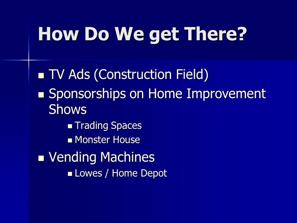 How Do We get There TV Ads (Construction Field)