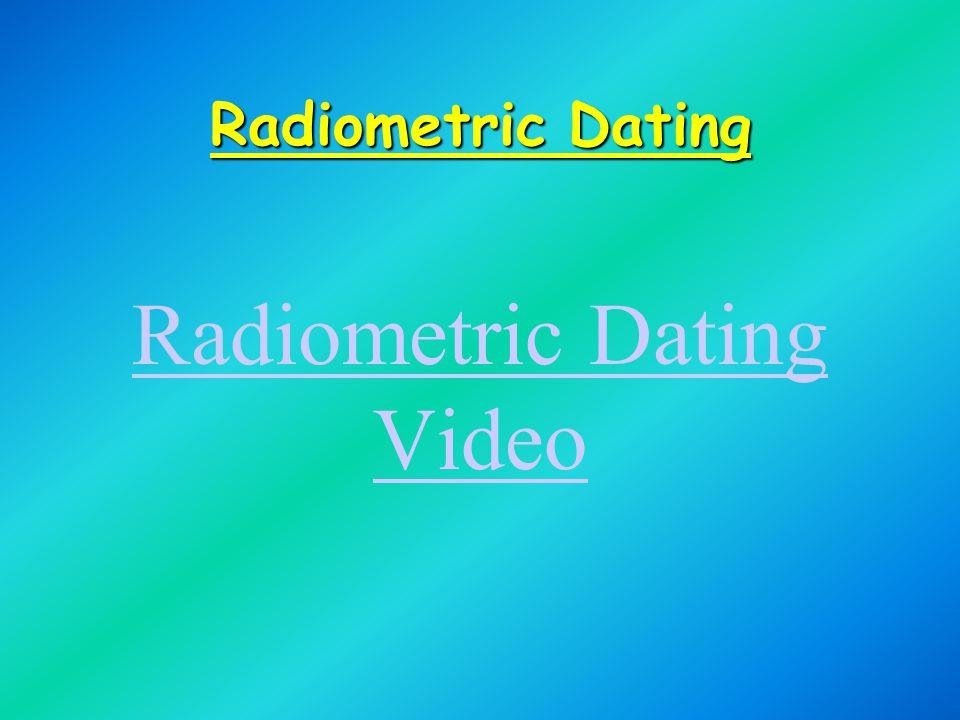 Radiometric Dating Video