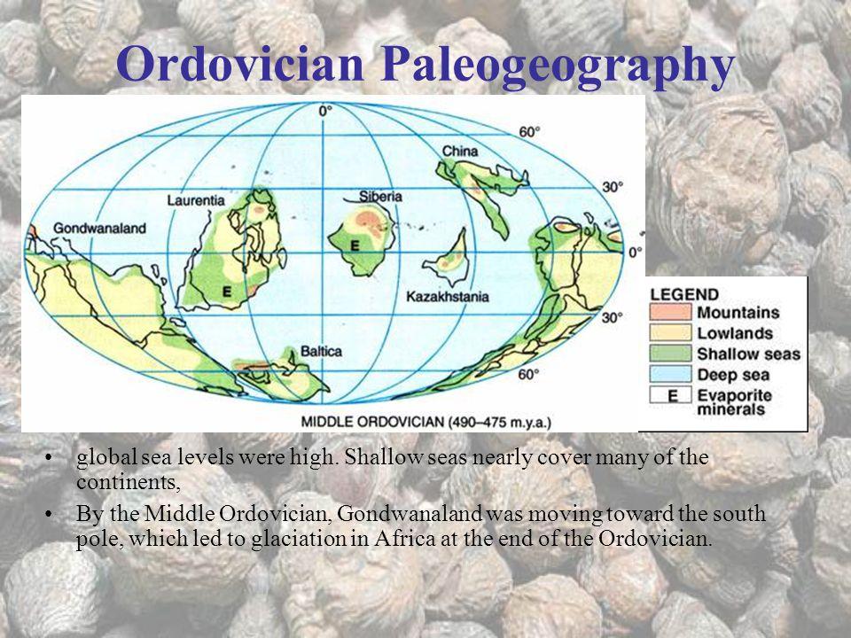 Ordovician Paleogeography