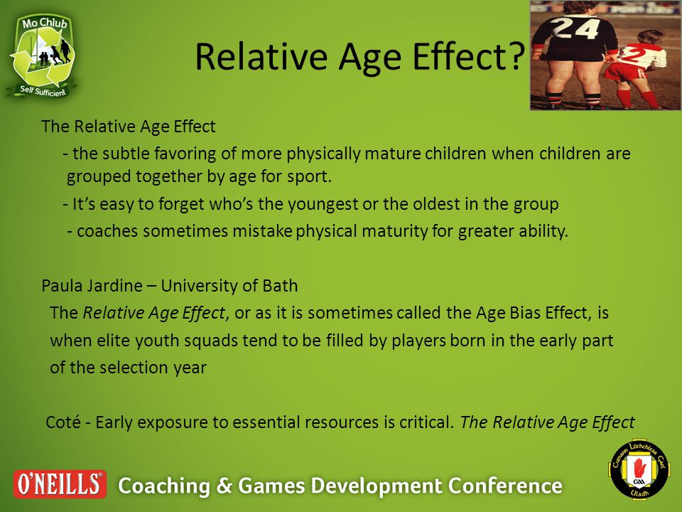 Relative Age Effect