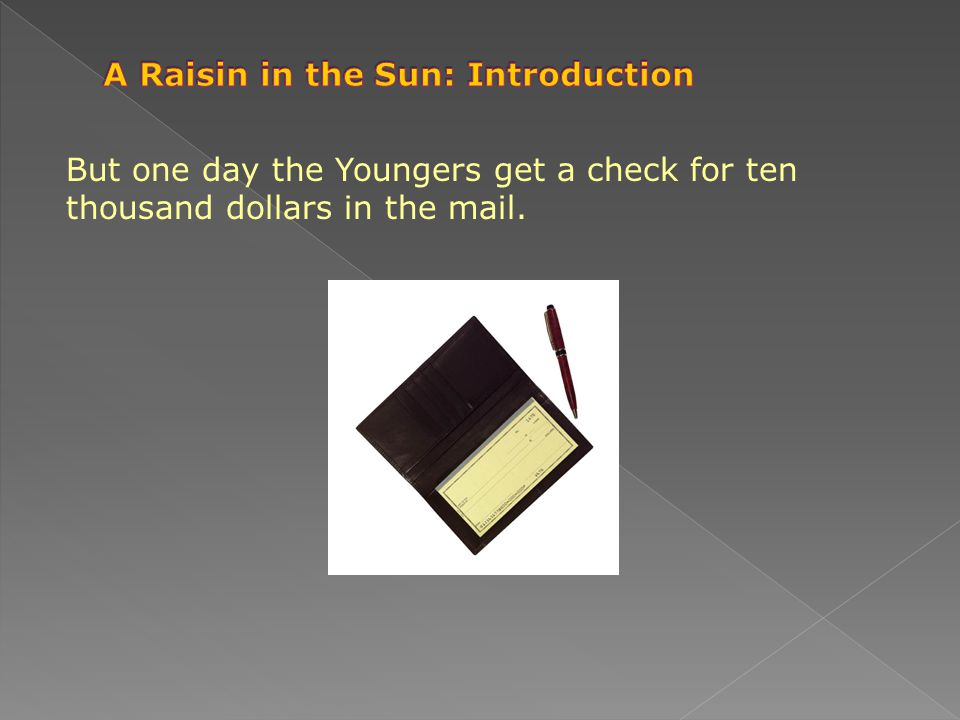 A Raisin in the Sun: Introduction