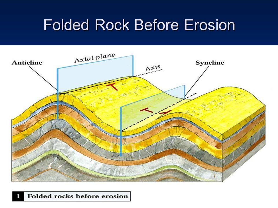 Folded Rock Before Erosion