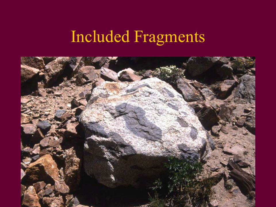 Included Fragments