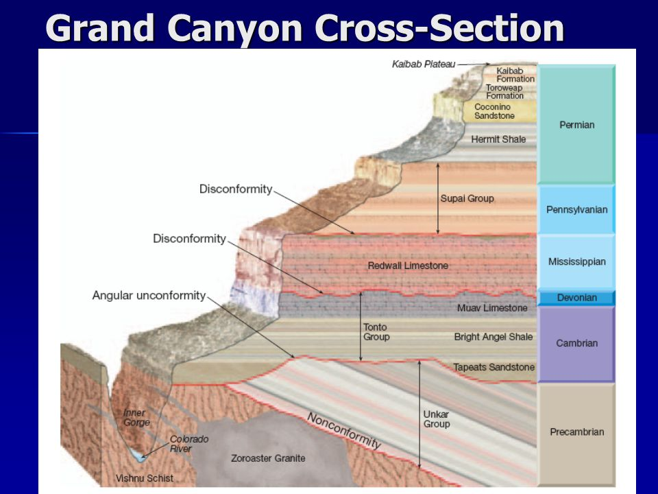 Grand Canyon Cross-Section