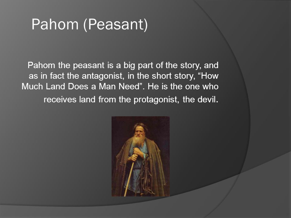 Pahom (Peasant)