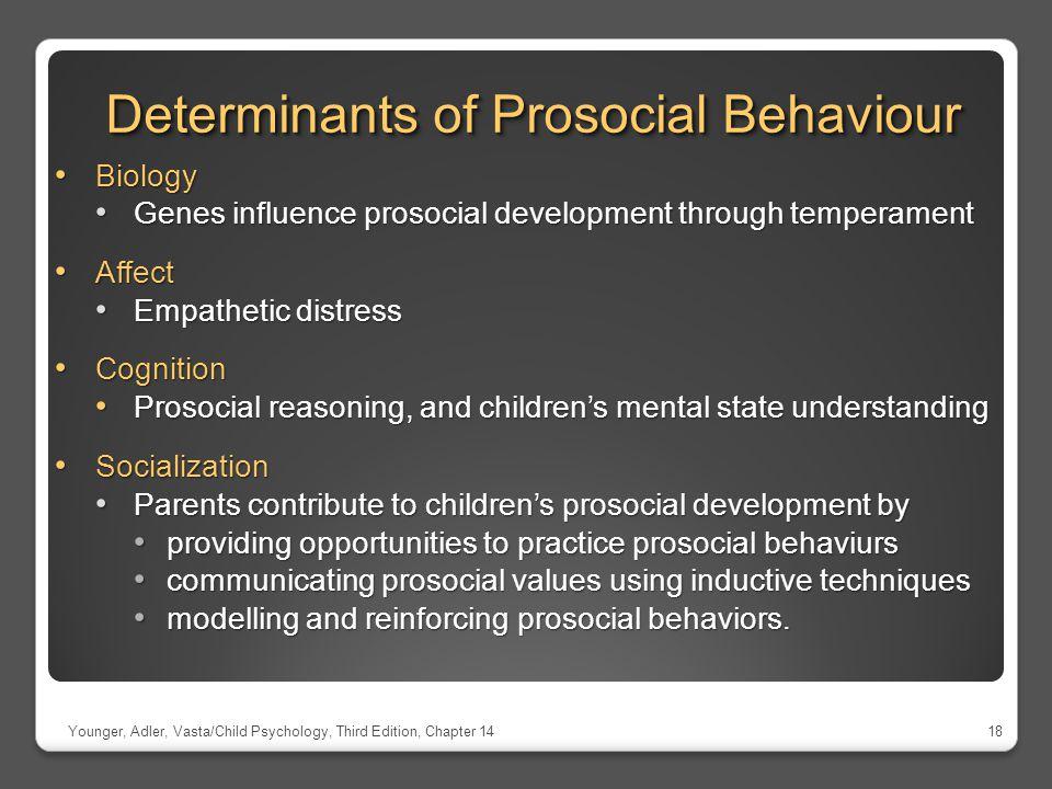 Determinants of Prosocial Behaviour