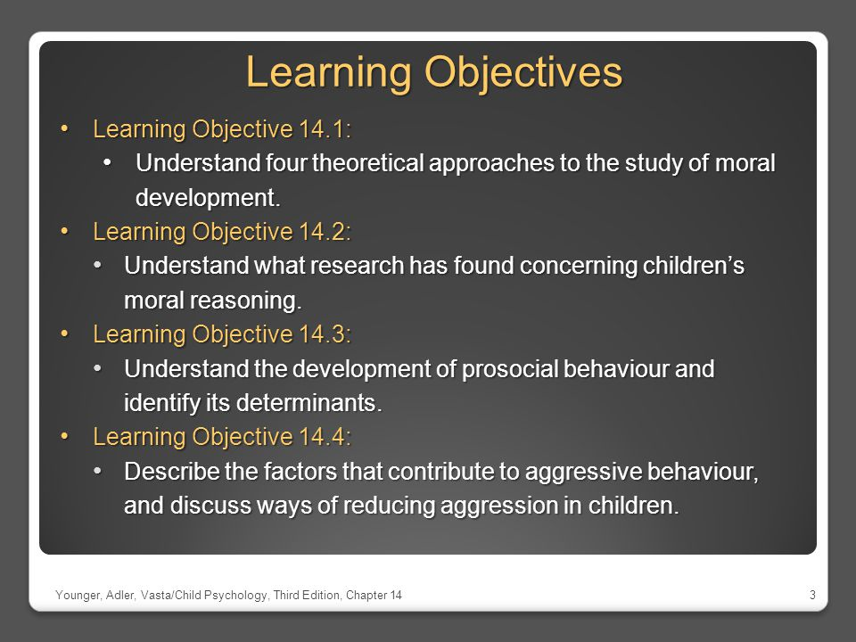 Learning Objectives Learning Objective 14.1: